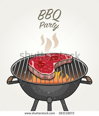Bbq steak clipart.