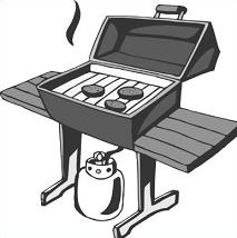 Free Barbecue Grill Clipart.