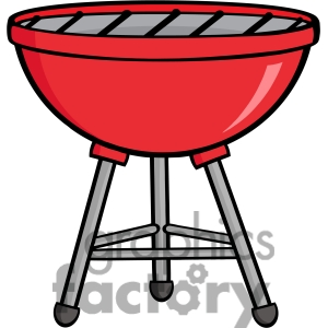 Bbq Grill Clipart Black And White.
