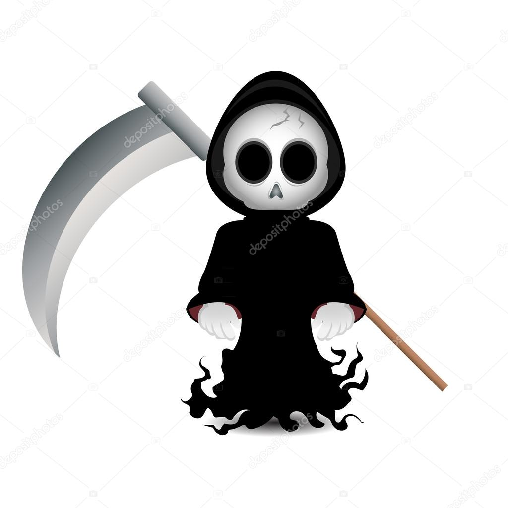 Grim reaper clip art — Stock Photo © kozzi2 #13525652.