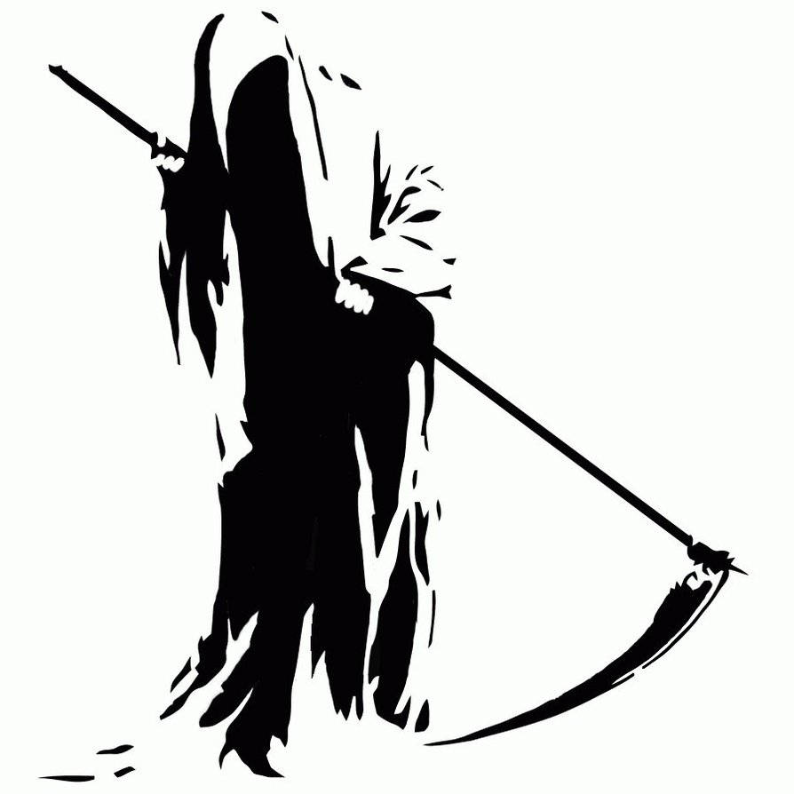 Grim reaper clipart free.