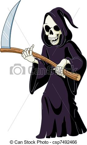 The grim reaper clipart.