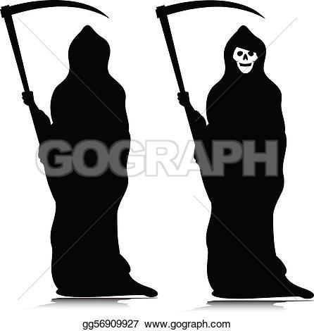 Grim Reaper Clip Art.