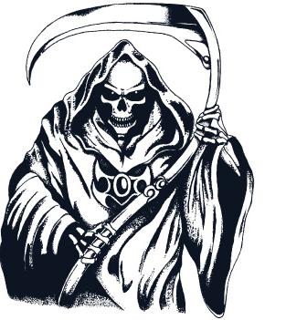 Grim Reaper Clipart #24188 in 2019.