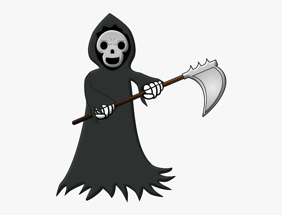 Cartoon Grim Reaper Clipart I.