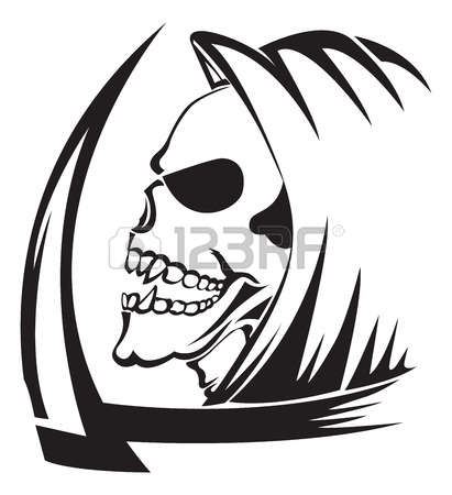 2,100 Grim Reaper Stock Illustrations, Cliparts And Royalty Free.