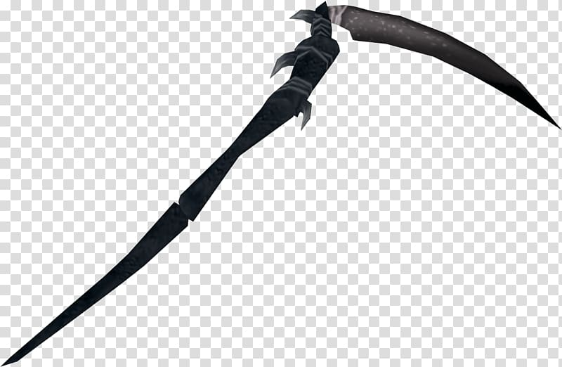 Scythe Sickle Reaper Death, others transparent background.