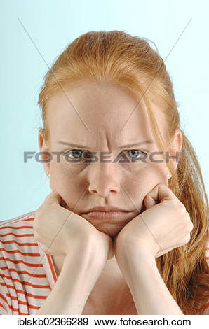 """Stock Photograph of """"Young red."""