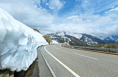 The Grimsel Pass In Switzerland Stock Image.