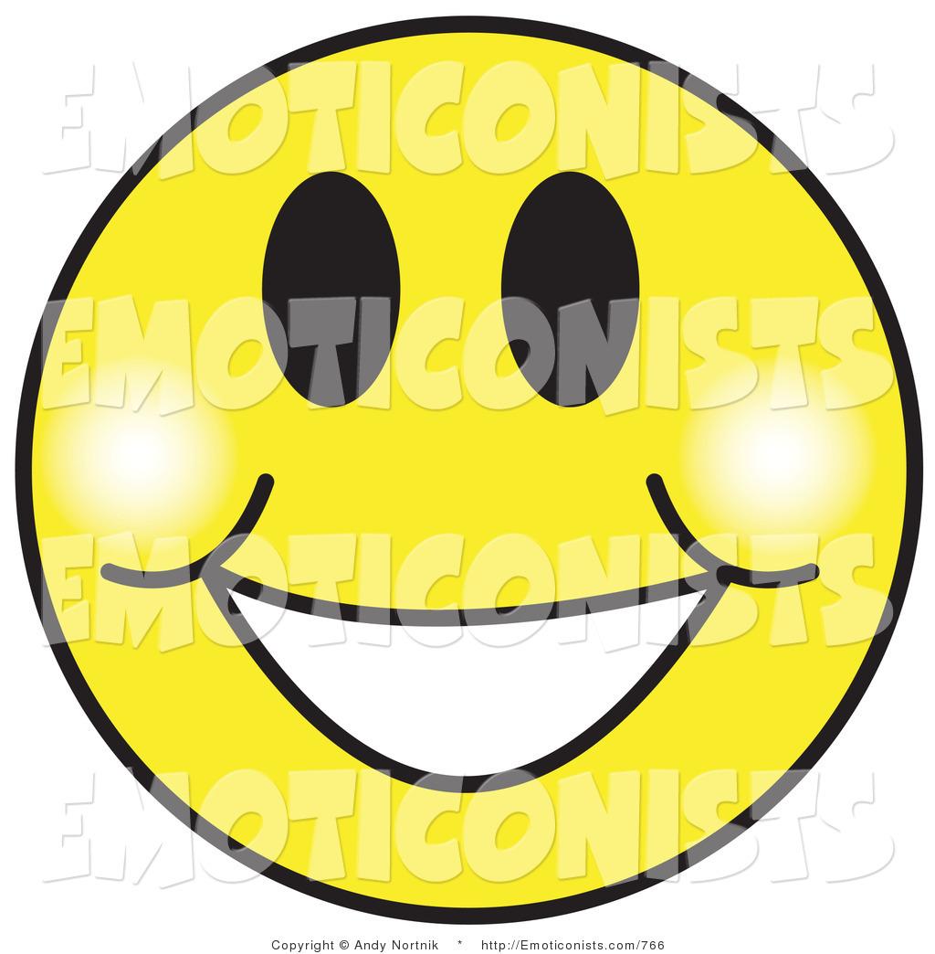 Big Grin Smiley Face Clipart.
