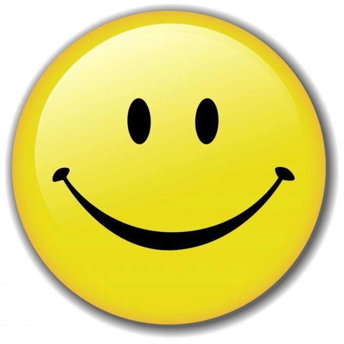 Cheesy grin clipart.