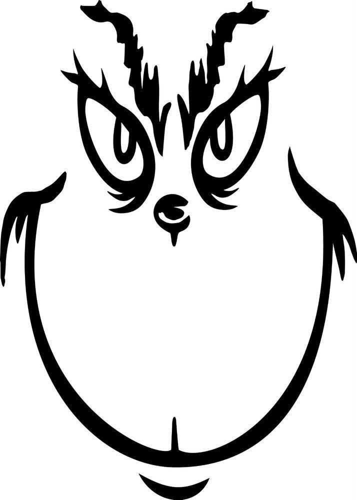 Grinch clipart black and white 6 » Clipart Portal.