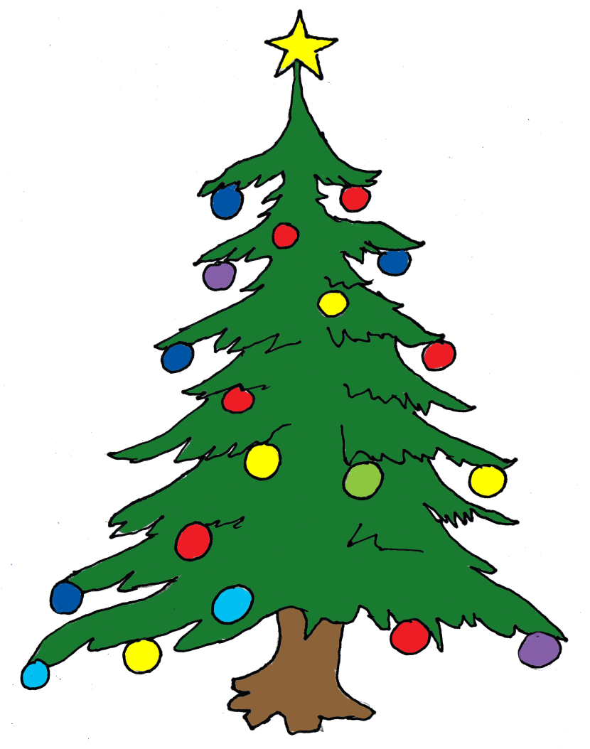 Free Clipart Christmas Tree Grinch.
