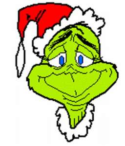 Grinch christmas clipart free.