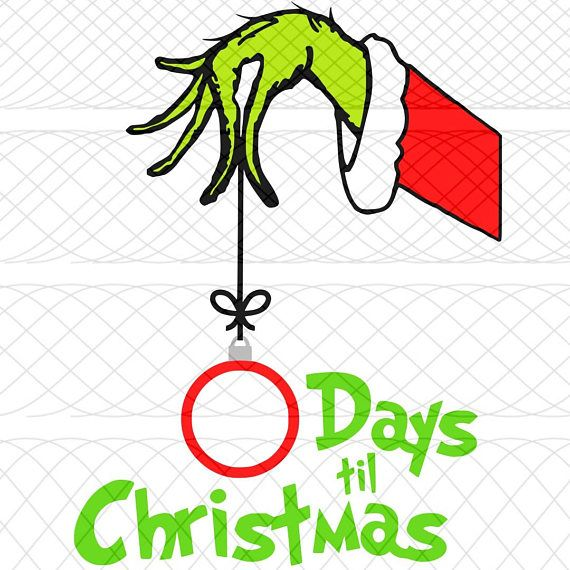 grinch hand png #7