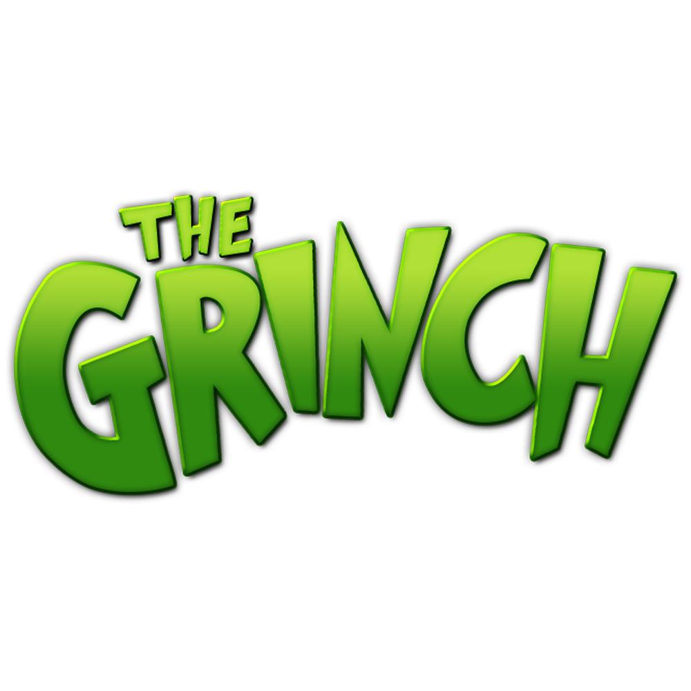 Christmas Grinch logo.