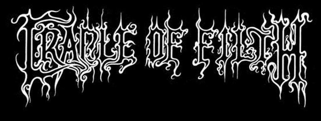 Cradle of Filth #logo in 2019.