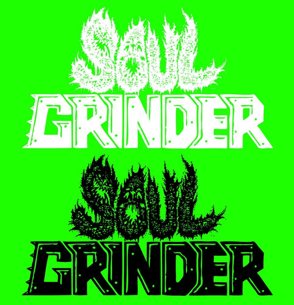 SOUL GRINDER Logo Vinyl Stickers.