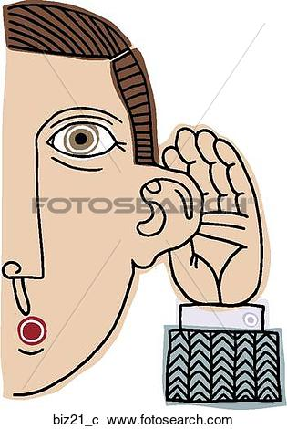 Stock Illustrations of Ear to Grindstone biz21_c.