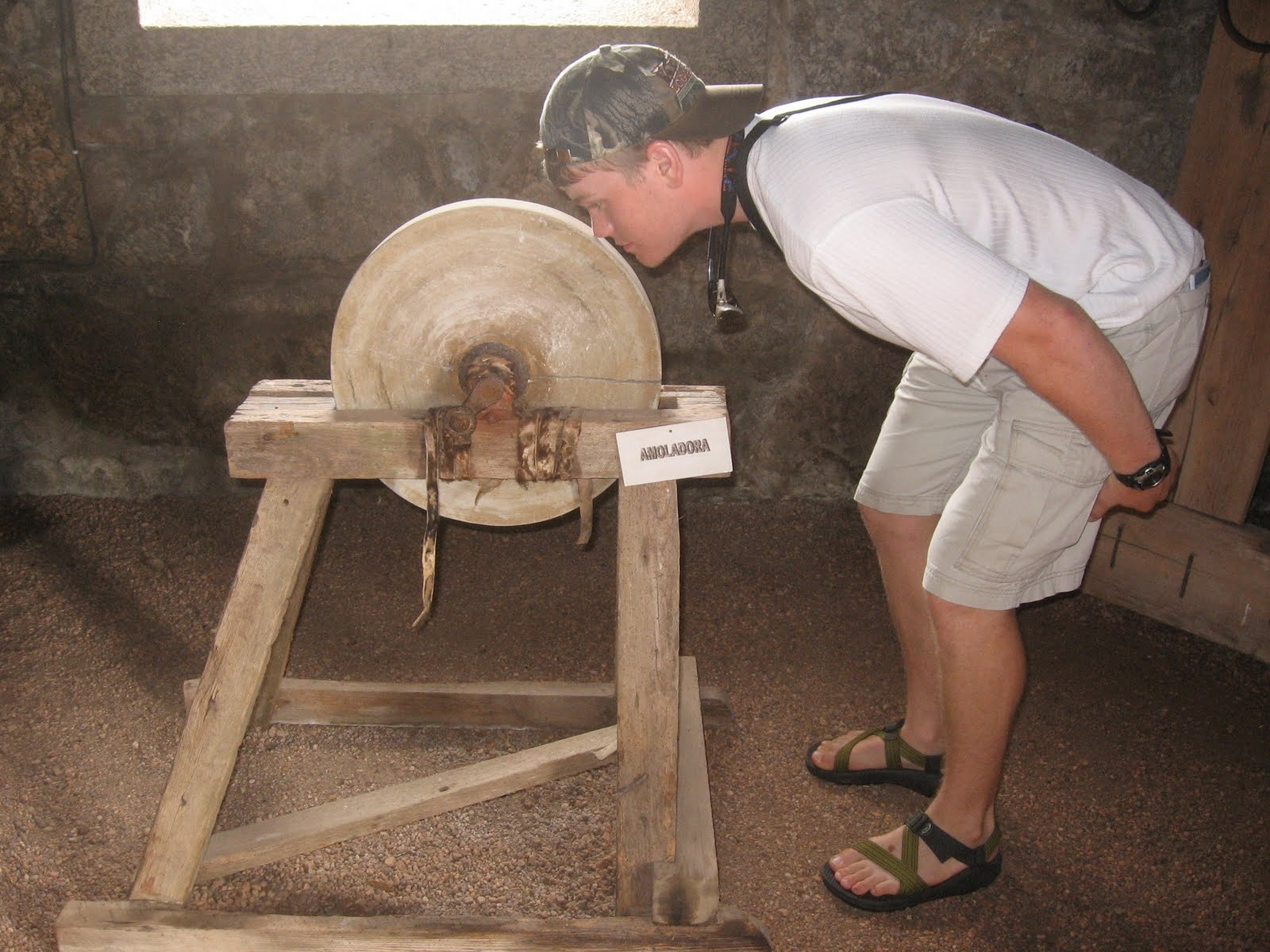Idiom of the Week: Put Your Nose to the Grindstone.