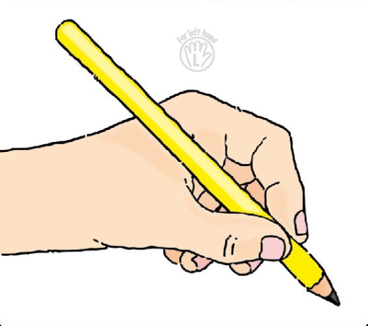 Pencil Grip Clip Art.