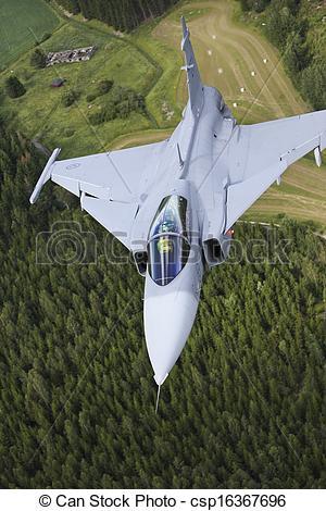 Stock Photographs of JAS39 Gripen csp16367696.