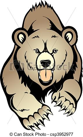 Grizzly Clipart.
