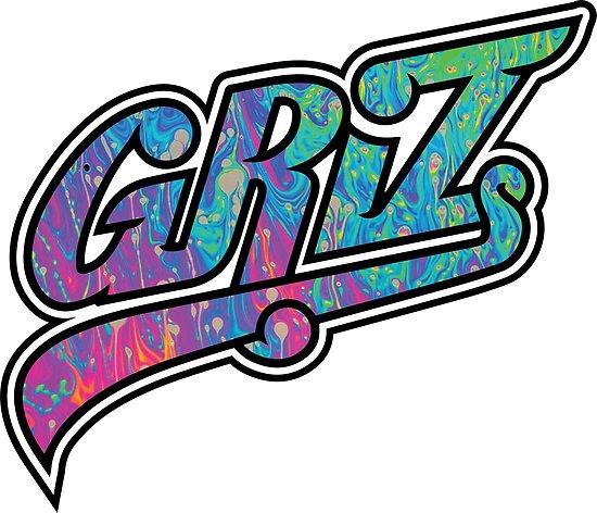 \'Griz Logo\' Poster by dingdesigns.