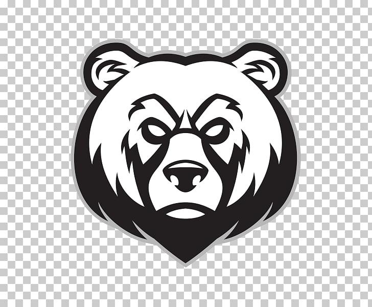 Polar bear Grizzly bear , bear PNG clipart.