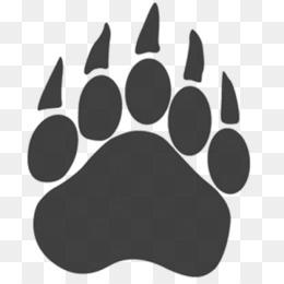 Bear Paw PNG.