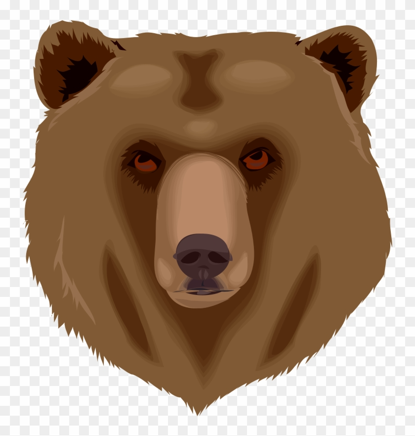 135,47kb Hd Grizzly Bear Clipart.