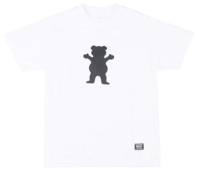 Amazon.com: Grizzly OG Bear Logo Basic Tee.