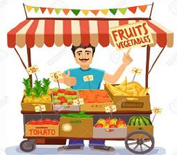 Free Grocer Clipart.