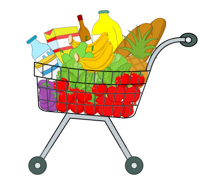 Free Grocery Clipart.