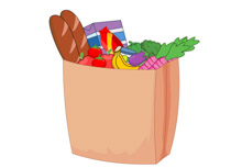 Free Grocery Clipart Clipart.