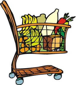 Groceries Clip Art Free.