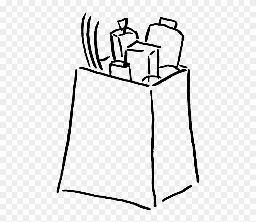 Groceries Clip Art.