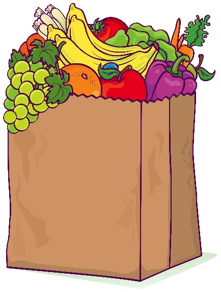 41+ Grocery Bag Clipart.