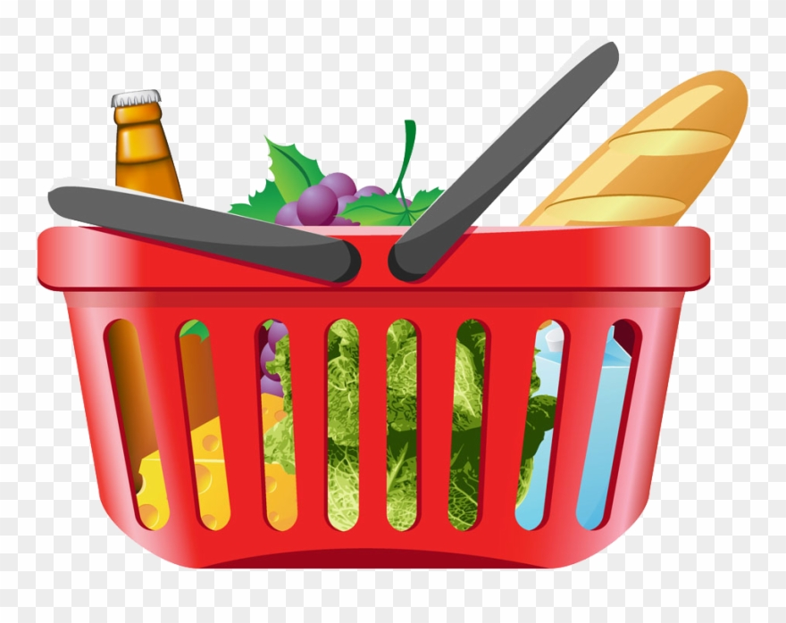 Clip Art Library Stock Shopping Cart Clip Art.