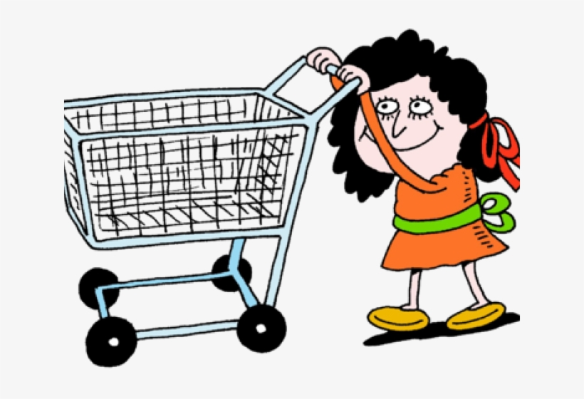 Retail Clipart Grocery Cart.