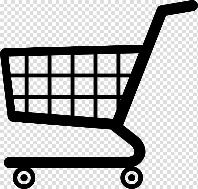 Shopping cart , shopping cart decoration transparent.
