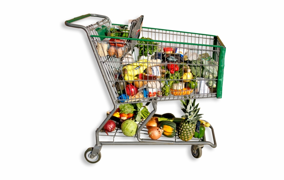 Grocery Cart Png.