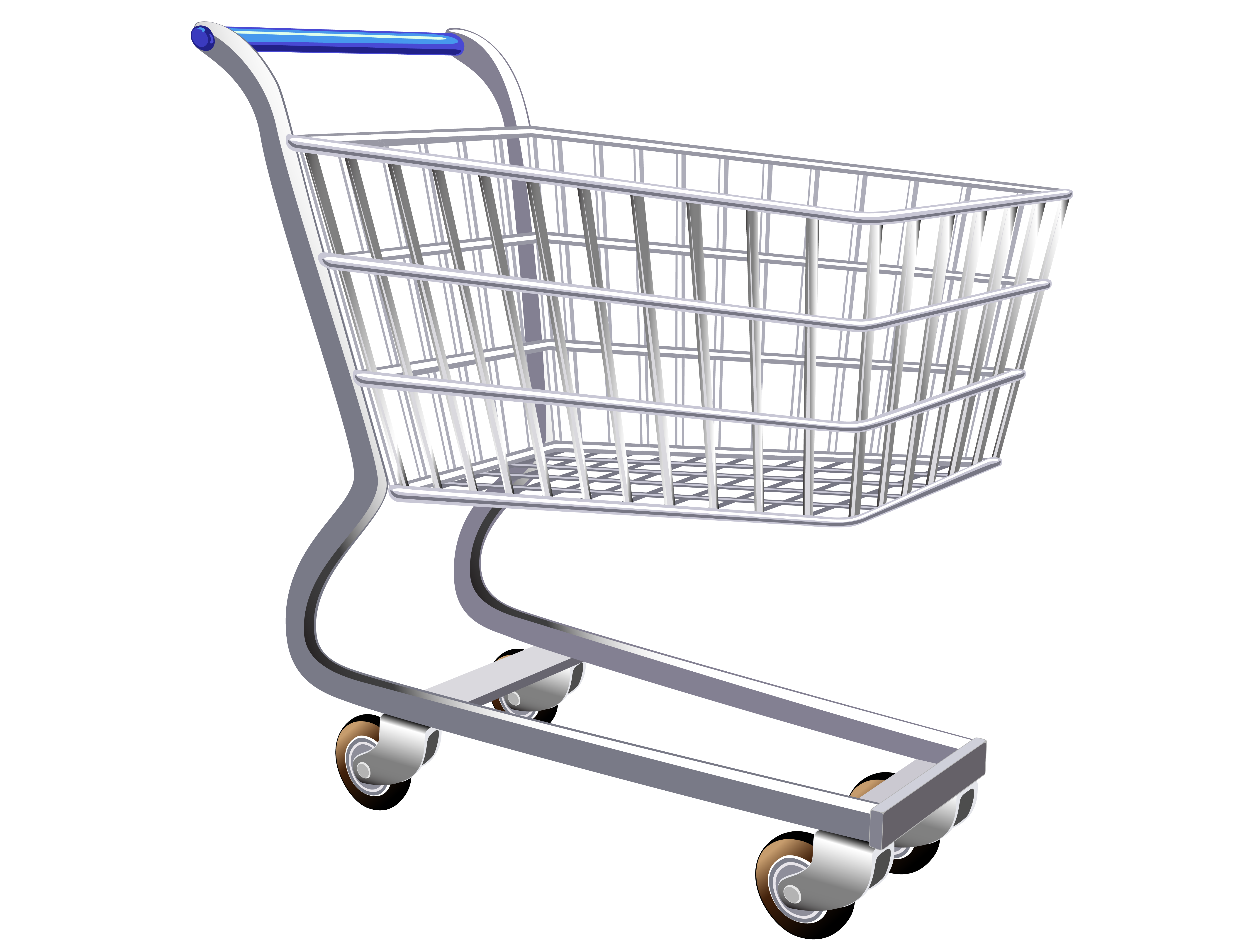 Shopping cart PNG images free download.