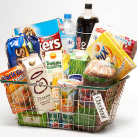 Download Free png Various Grocery Items.