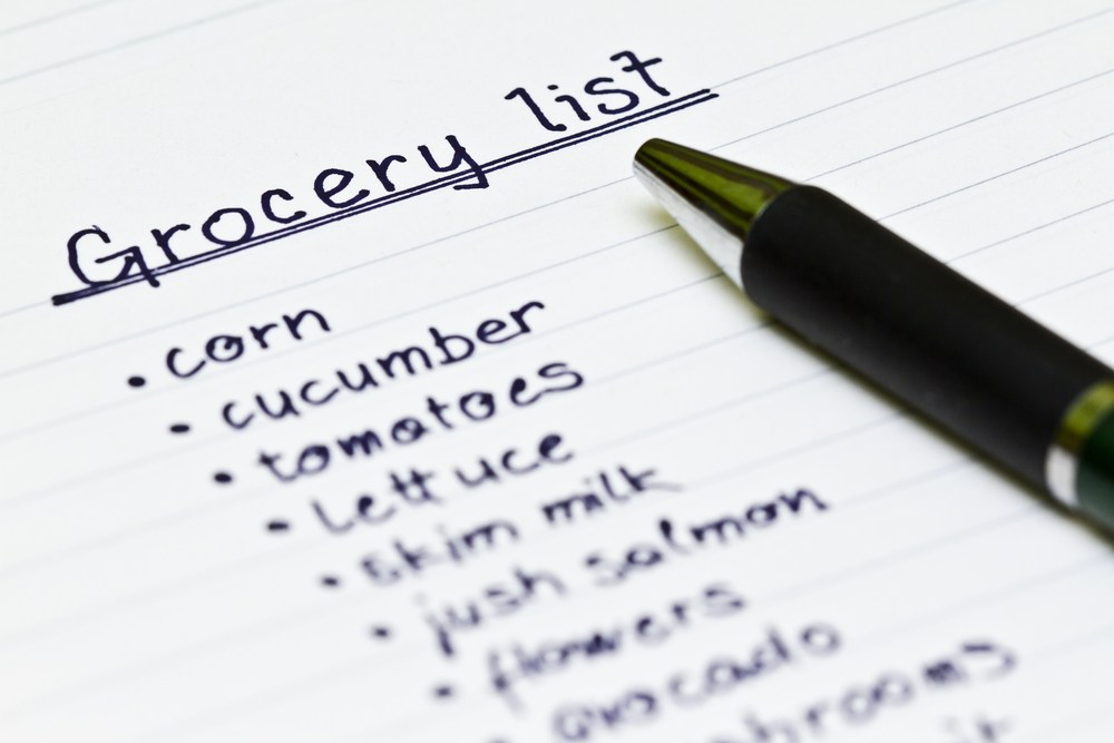 Grocery list clipart 6 » Clipart Portal.