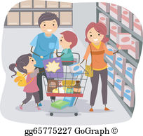 Grocery Store Clip Art.