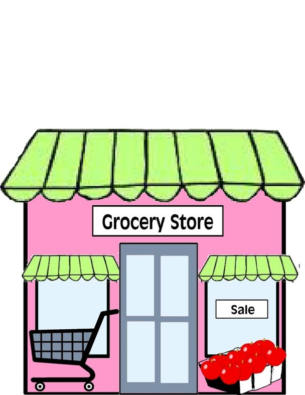 Grocery Store Clipart.