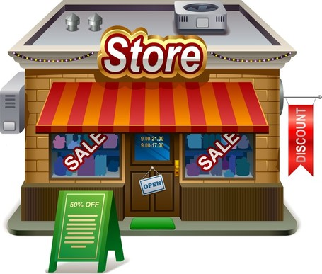 Shops clipart - Clipground