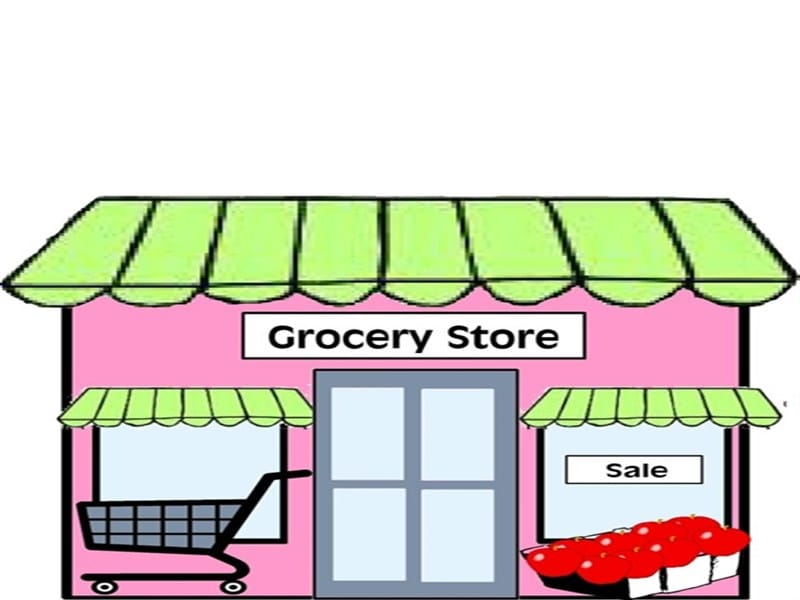 Grocery store clipart - Clipground