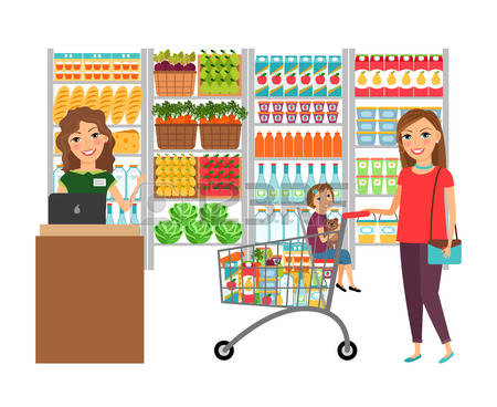 22,118 Grocery Store Stock Illustrations, Cliparts And Royalty.